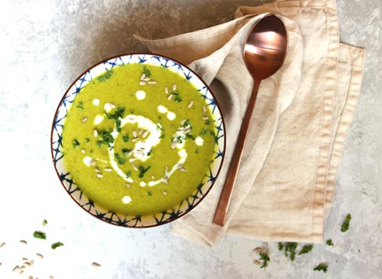 Broccoli & Ginger Soup