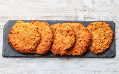 Easy Oat & Carrot Cookies