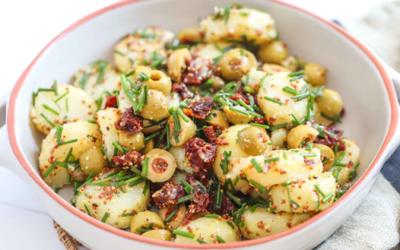 Potato & Sundried Tomato Salad