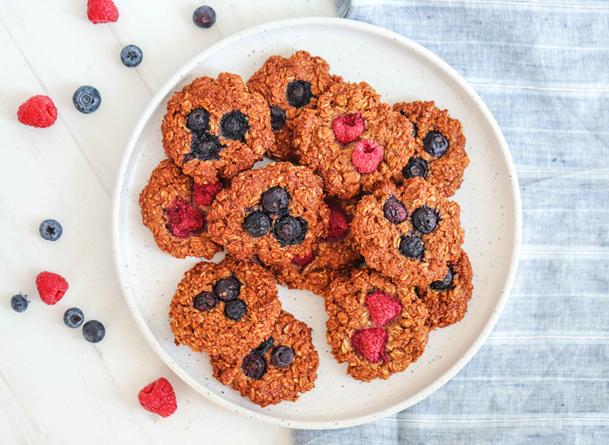 Breakfast Oak Cookies